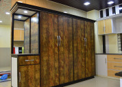Wardrobe interiors designers in bangalore