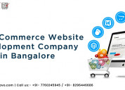 Best ecommerce website development company in bang