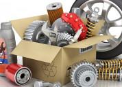 auto spare parts export data