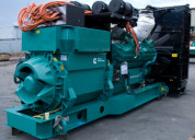 Used kirloskar diesel generator set sell sur
