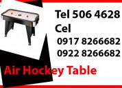 Air hockey table rent hire manila philippines