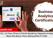 Business analytics certification
