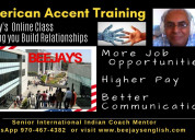 American accent & voice & accent training