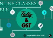 Tally with gst online training classes available