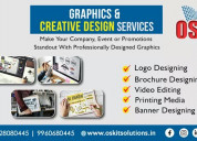Graphic designing services and training