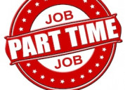 Part time home base data entry job