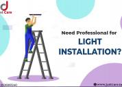 Expert light fixture installation service & repair