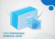 Disposable 3-layer protective face mask/surgical m