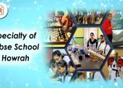 The specialty of cbse school in howrah district