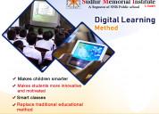 Digital learning method in best cbse school howrah