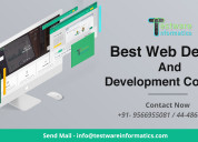 Best web design and development company - testware
