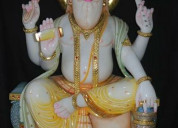 Marble brahma statue at best price in india
