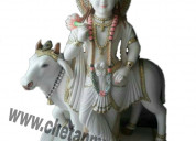 Krishna marble idols