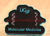 Ucsf enamel pin