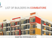 New villa projects in coimbatore