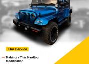 Mahindra thar and 4x4 car modifications