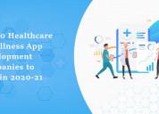 Hire healthcare app development companies 2020