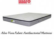 Aloe vera fabric antibacterial mattress – usha mat