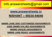 2020 june nmims assignments - mr. mohan, aged 65 y
