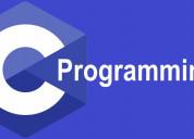 Online c language training course institute