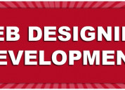 Online web designing and development