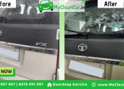 Door step car wash & car care services in aurangab