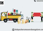 Book trusted & verified packers movers bangalore