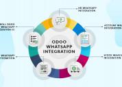 Odoo whatsapp integration -fully integrated