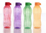 Tupperware aquasafe 500ml bottle 4pc