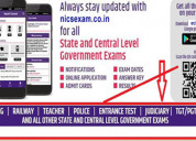 Online exam for rrb,sbi, ssc, tet