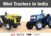 Mini tractor in india