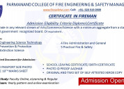 Fire and safety one year diploma courses