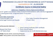 Admission open for diploma in industrial safety