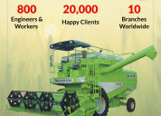 Harvester combine for your farm
