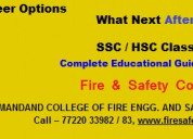 Diploma in fire technology and industrial safety o