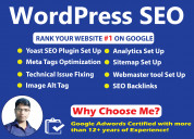 Wordpress on page seo expert