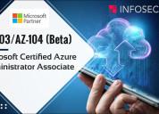 Az-103 microsoft azure administrator training & certification