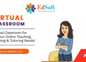 Best online virtual classroom and lms at edsoft