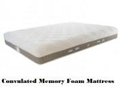 Newton 3.0 3-zone convulated memory foam mattress