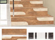 Step riser (stair tile) top tiles manufacturer & d