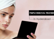 Pimple removal treatment.