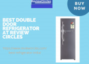 Buy best double door refrigerator in india