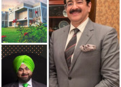 Sandeep marwah first from media industry to the po