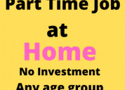 Work from home jobs - part time jobs - free jobs-