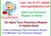 Tire puncture & repair services in hyderabad