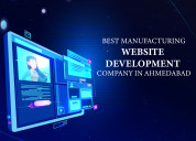 Manufacturing website development companyahmedabad