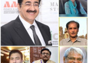 Sandeep marwah chair hindi journalism day on 30th