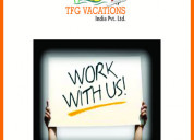Tfg-a leading tour & travel company part time wor