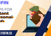 Tips for instant personal loans