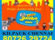 Podar jumbo kids plus | 8072629724 | kilpauk chenn